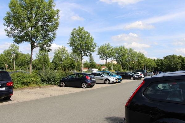 Parkplatz Center Parcs Hochsauerland