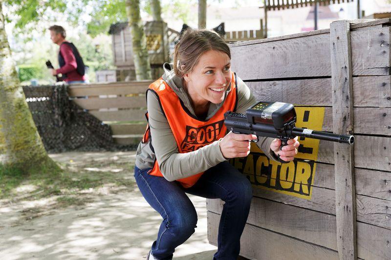 Laser Battle bei Center Parcs Hochsauerland