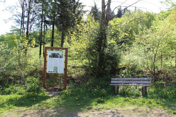 Wanderparkplatz Schlossberg bei Küstelberg