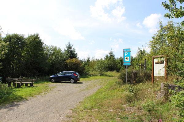 Wanderparkplatz Weddel