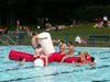 Spiel und Spaß im Freibad