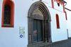 Eingang in die Barockkirche