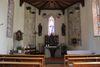 Der Innenraum der Kapelle