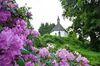 Blick auf die idyllisch gelegene Kapelle
