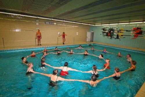 Aqua-Fitness in der Kleinschwimmhalle
