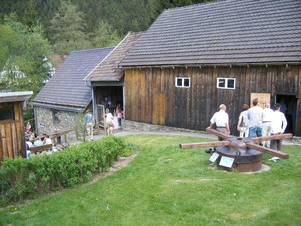 Denkmalstag an der Knochenmühle