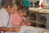 Der Künstler-Workshop mit den Kindern