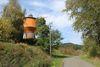 Der Wasserturm steht bei der Ortschaft Krummenerl in Meinerzhagen