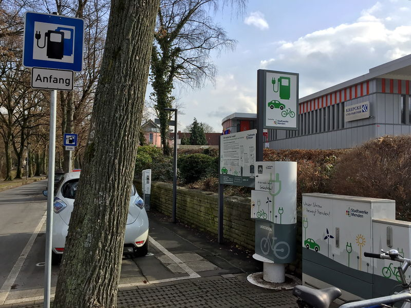 E-Ladestation für E-Autos