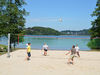 Beachvolleyball am Hennesee