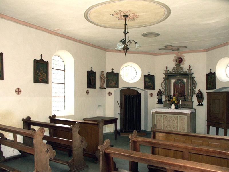 Donatus- und Nepomuk-Kapelle in Mosebolle