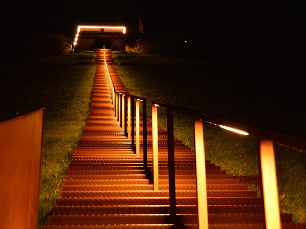 Himmelstreppe bei Nacht