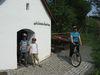 Radfahrer an der Josefskapelle