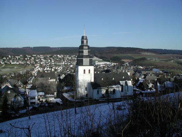 Blick auf Eversberg