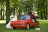 Braut im Hofgarten von Meßkirch