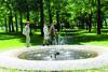 Springbrunnen im Hofgarten in Meßkirch