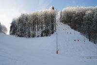 Skilift Täle bei Meßstetten