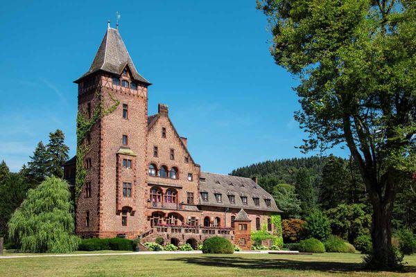 Schloss Saareck in Mettlach