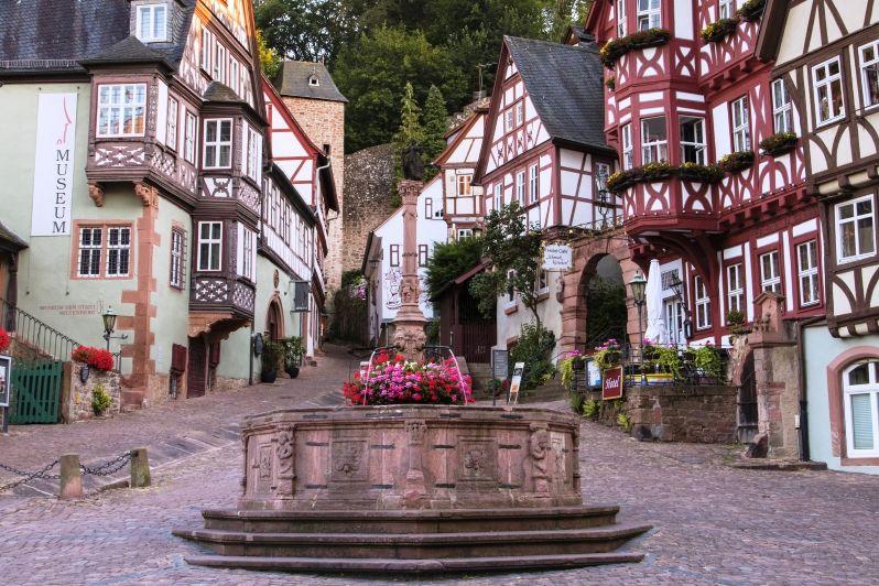 Marktplatz und Schnatterloch