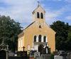 Blick auf die Friedhofskirche in Mitterfels in der Urlaubsregion St. Englmar im Bayerischen Wald