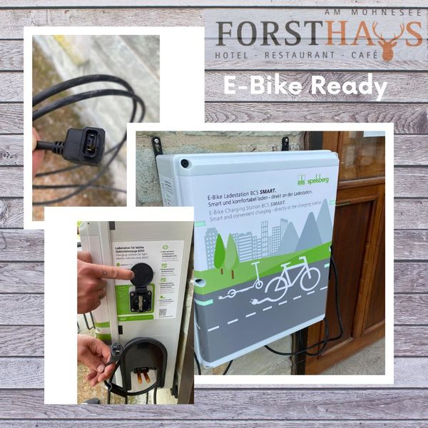 E - Bike Ladestaion