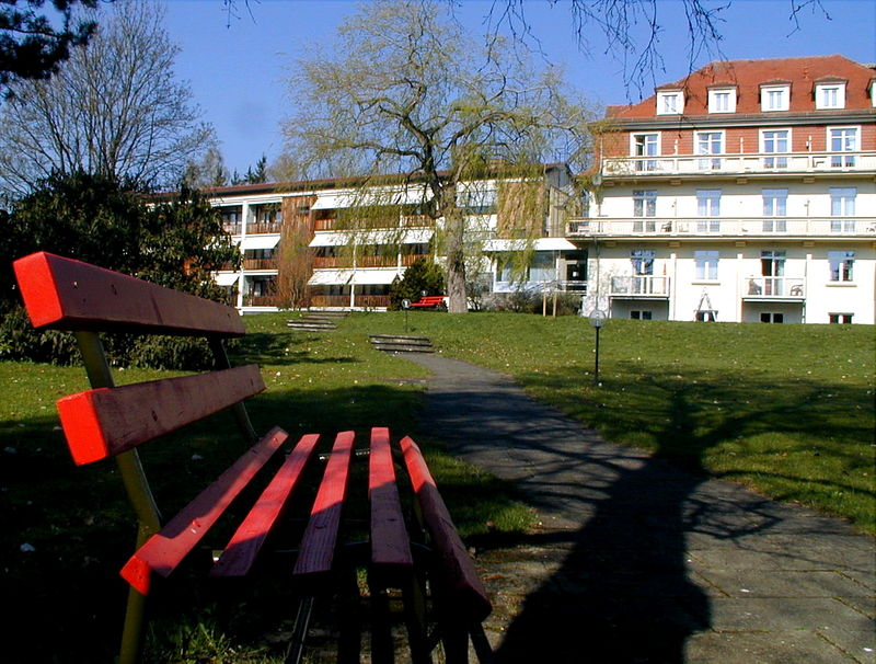 Im Kurpark von Bad Sebastiansweiler