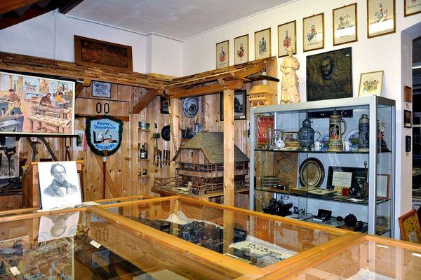 Austellungsraum des Heimatmuseum Moosburg an der Isar
