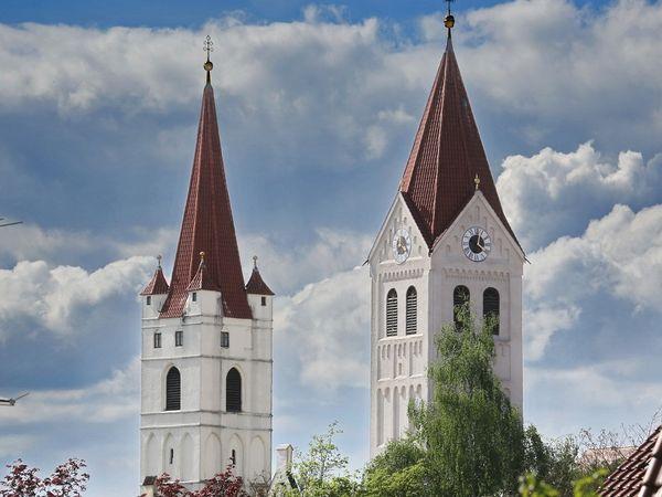Außenansicht Kastulus Münster in Moosburg