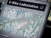 Karte E-Bike Ladestation
