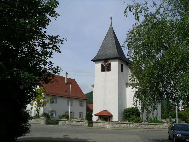 Katholische Pfarrkirche St. Margaretha in Mühlahusen im Täle