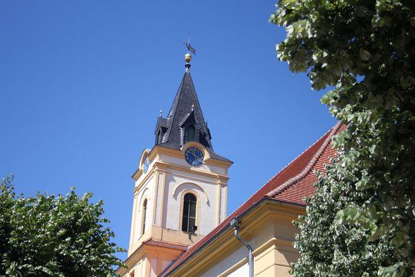 Kirche Müllrose, Foto: Katrin Riegel