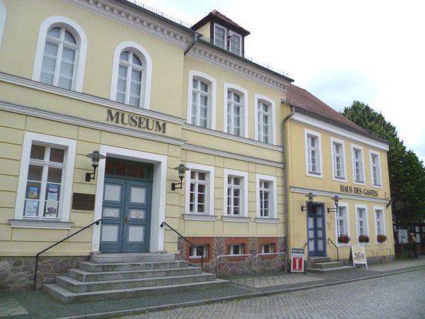 Haus des Gastes mit Heimatmuseum in Müllrose, Foto: Haus des Gastes