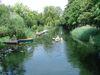Mit dem Kanu auf dem Katharinengraben, Foto: Tourismusverband Seenland Oder-Spree e.V.