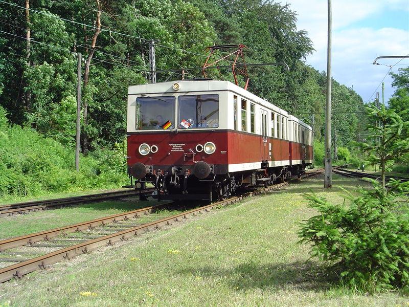 Entlang der Buckower Kleinbahn