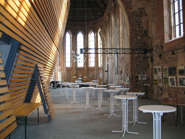 Kirchenschiff Stadtpfarrkirche