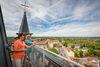 Blick auf Müncheberg von der Stadtpfarrkircfhe St. Marien, Foto: Seenland Oder-Spree e.V./Florian Läufer
