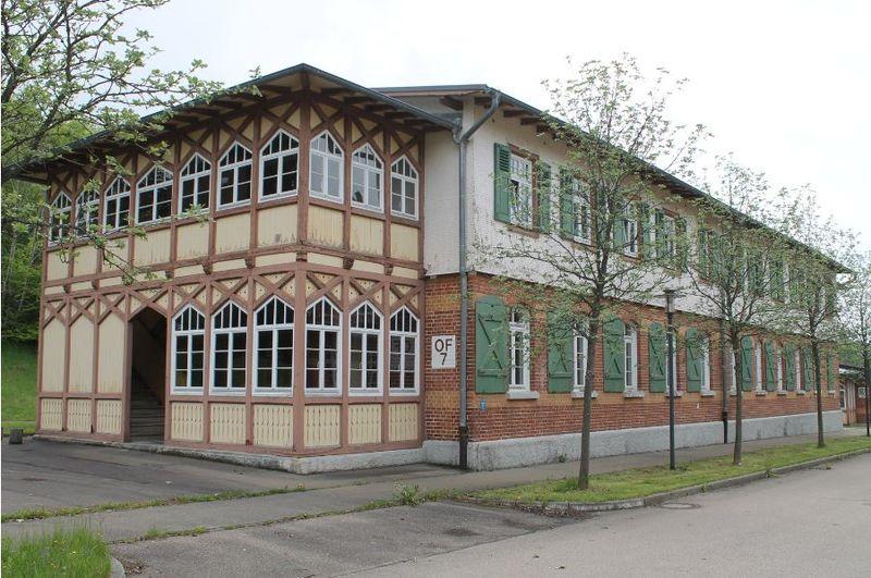 Albmaler Museum im Backsteingebäude im Alten Lager
