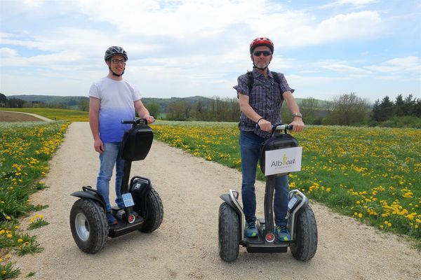 Tour mit Segways