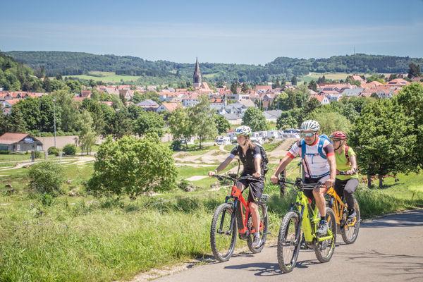 Start der Berg Bier-Tour ist in Münsingen.