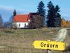 Dorf Gruon auf dem ehemaligen Truppenübungsplatz