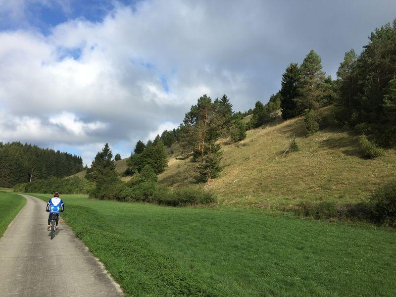 Münsingen e-Bike Tour 2b - Märchenschloss Lichtenstein (mit Bahnrückfahrt)