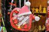 Lebkuchenherz auf dem Weihnachtsmarkt in Münsingen