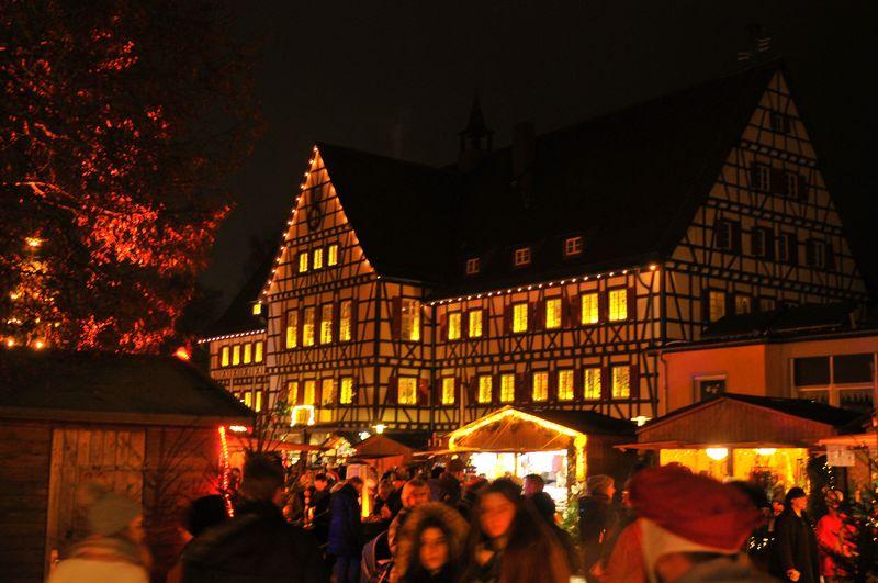Weihnachtsmarkt in Münsingen