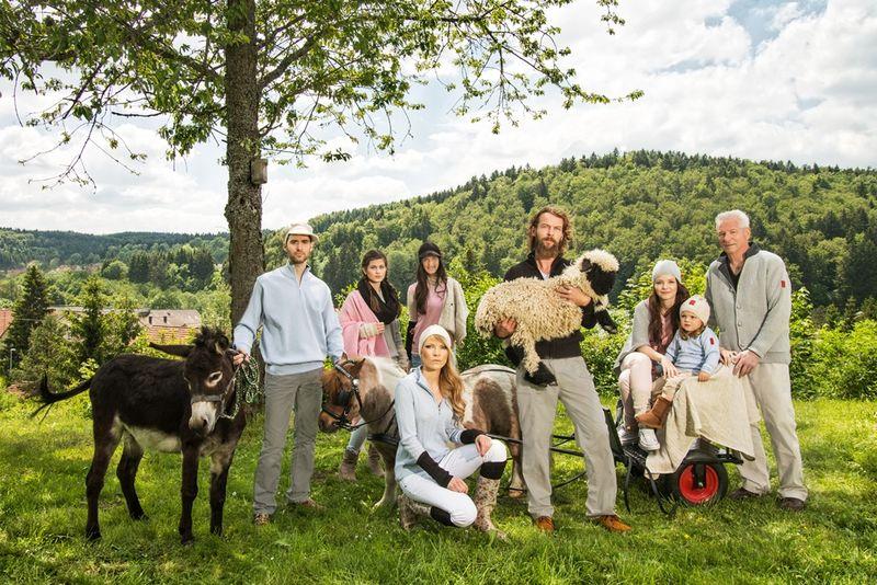 Hoeschele mit Schaf