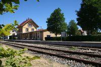 Bahnhof in Münsingen