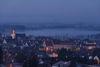 Munderkingen Nebel und Nacht