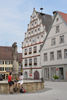Munderkingen Altstadt - Rathaus und Brunnen