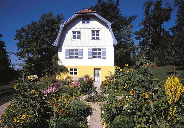 Münterhaus im Sommer