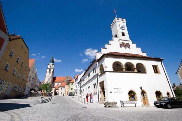 Historische Altstadt von Nabburg.