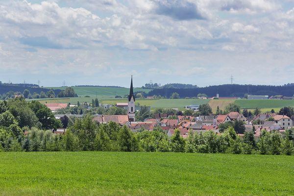 Panorama Markt Nandlstadt